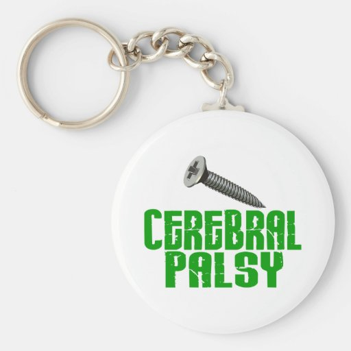 SCREW Cerebral Palsy 1 Key Chains