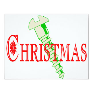 Screw Christmas Personalized Invites