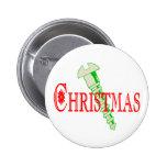 Screw Christmas Pinback Buttons