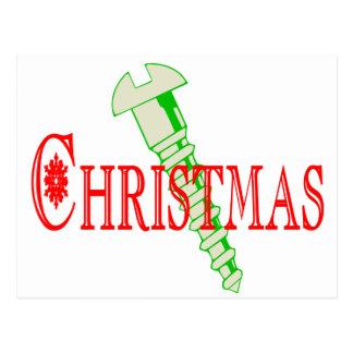 Screw Christmas Postcard