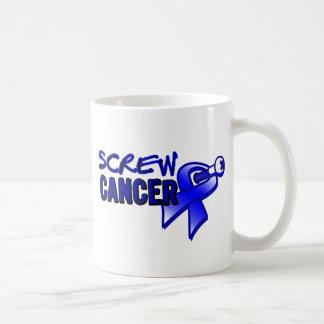 Screw Colon Cancer Classic White Coffee Mug