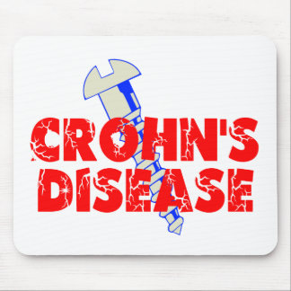 Screw Crohn's Disease Mouse Pad