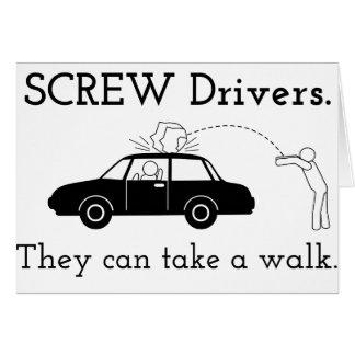 Screw Drivers Card