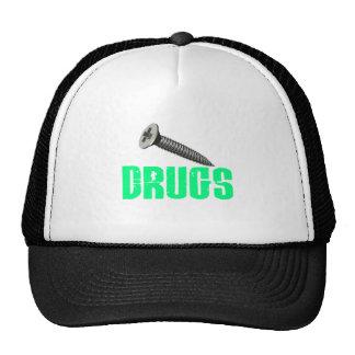 Screw Drugs Light Green Hat