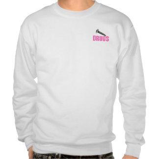 Screw Drugs Pink Sweatshirt