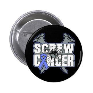 Screw Esophageal Cancer 2 Inch Round Button
