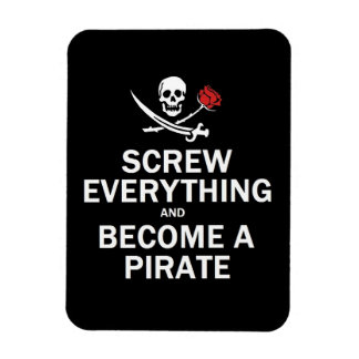 Screw everything and become a Pirate Magnet