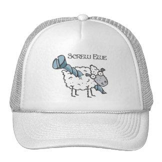 screw ewe mesh hats