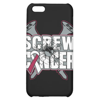 Screw Head and Neck Cancer iPhone 5C Case
