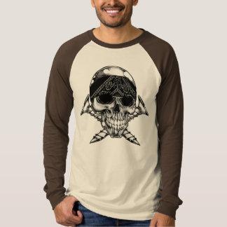Screw Head  Long Sleeve Raglan T-Shirt