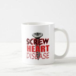 Screw Heart Disease Coffee Mug