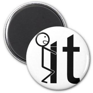 Screw It Funny Stick Figure Gifts Magnet