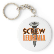 Screw Leukemia Keychain