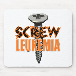 Screw Leukemia Mouse Pad