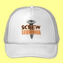 Screw Leukemia Trucker Hat