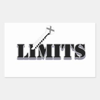 Screw Limits Rectangular Sticker