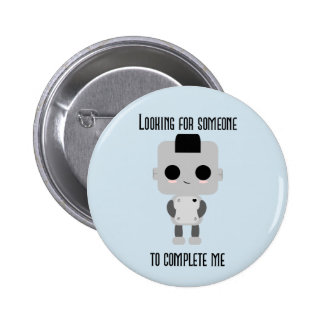 Screw Loose Pinback Button