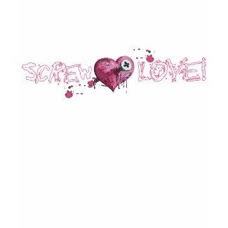 Screw Love Anti Valentine's Shirt shirt
