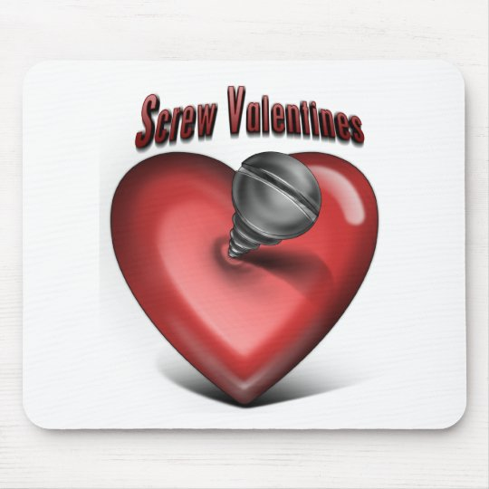 Screw Love Mouse Pad