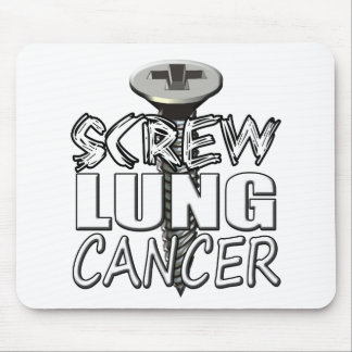 Screw Lung Cancer Mouse Pad