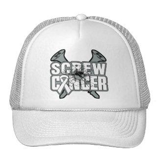 Screw Lung Cancer Trucker Hat