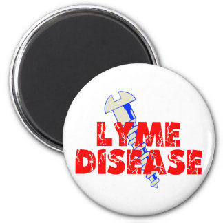 Screw Lyme Disease Magnet