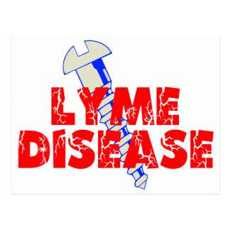 Screw Lyme Disease Postcard