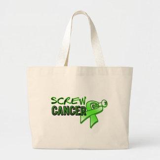 Screw Lymphoma Canvas Bags
