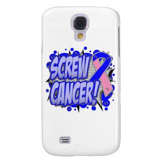 Screw Male Breast Cancer Comic Style Galaxy S4 Case