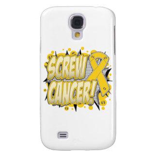 Screw Neuroblastoma Cancer Comic Style Galaxy S4 Cases