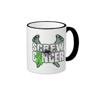 Screw Non-Hodgkins Lymphoma Cancer Mugs