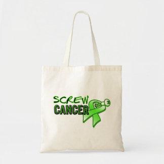 Screw Non-Hodgkin's Lymphoma Canvas Bag
