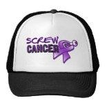 Screw Pancreatic Cancer Trucker Hat