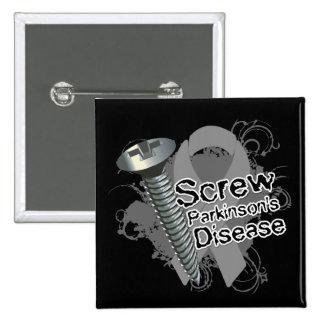 Screw Parkinsons Disease Button