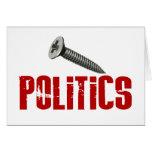 Screw Politics Cards