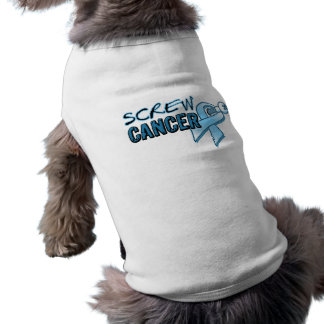 Screw Prostate Cancer Dog Clothes