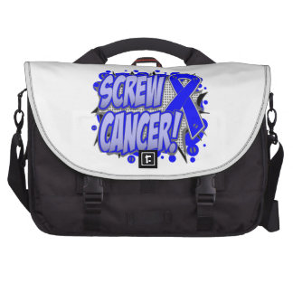 Screw Rectal Cancer Comic Style Computer Bag