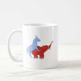 SCREW REPUBLICANS Faded.png Coffee Mugs
