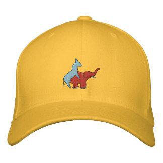 Screw Republicans Logo Embroidered Baseball Cap