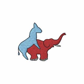 Screw Republicans Logo Embroidered Polo Shirt