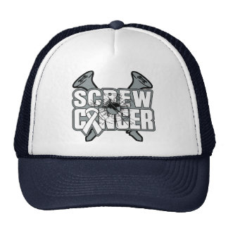 Screw Retinoblastoma Cancer Trucker Hat