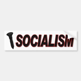 Screw Socialism Car Bumper Sticker