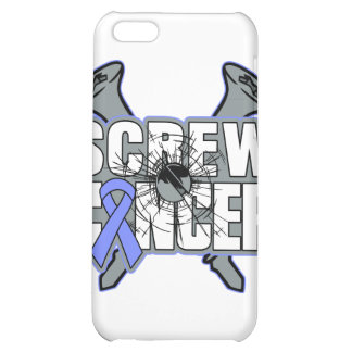 Screw Stomach Cancer Case For iPhone 5C