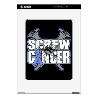 Screw Stomach Cancer Decal For iPad