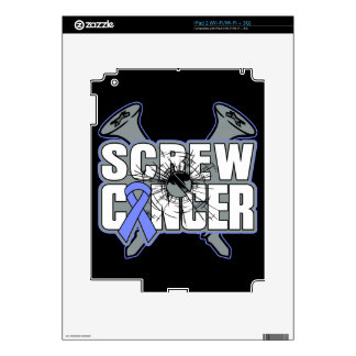 Screw Stomach Cancer Decal For iPad 2
