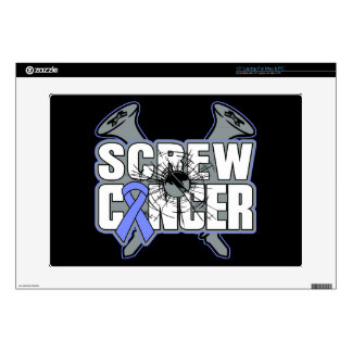Screw Stomach Cancer Decal For Laptop