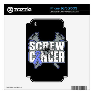 Screw Stomach Cancer Skin For iPhone 3