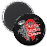 Screw Stroke Disease Magnet