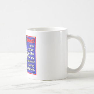 Screw Tea Mug