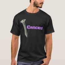 Screw Testicular Cancer! (Orchid Letters) T-Shirt